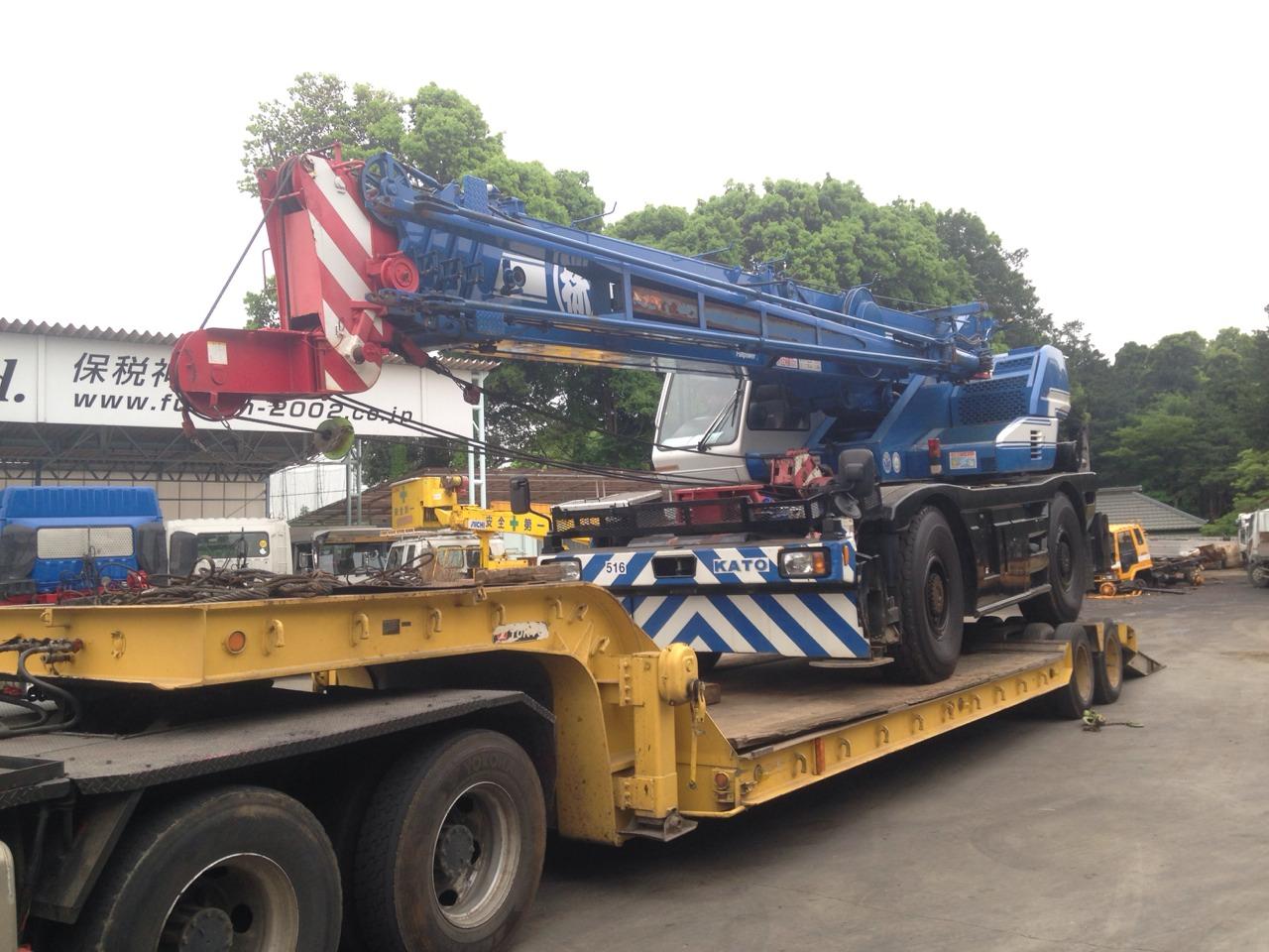 Rough Terrain Crane Malaysia : Ro fusion co ltd